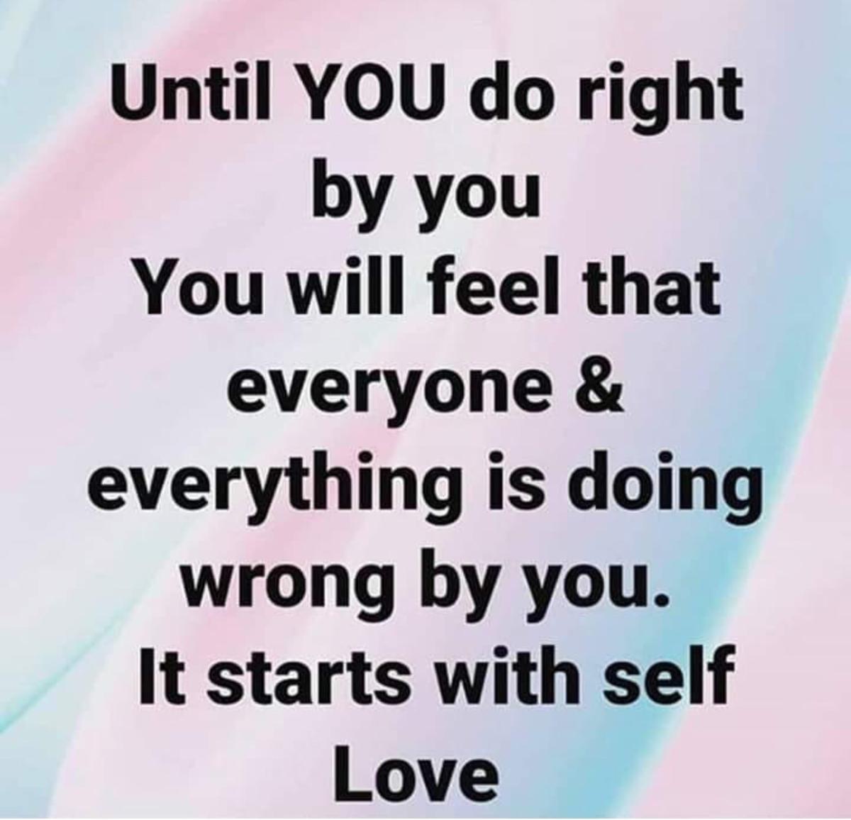 Self-Love is Self-Preservation